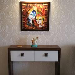 Living room by Alaya D'decor, Minimalist Plywood