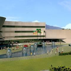 Centro Cultural Walter Peracchi de  Barcellos: Centros de congressos  por Marisol Réquia Arquitetura