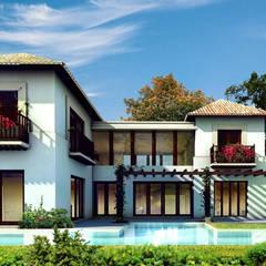Houses by Boué Arquitectos