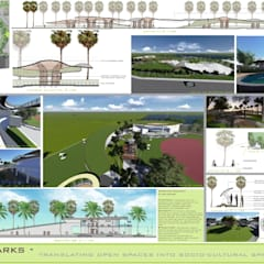 Event venues by Neha Goel Architects,