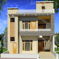 Houses by S.R. Buildtech – The Gharexperts,