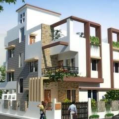 Rumah oleh S.R. Buildtech – The Gharexperts