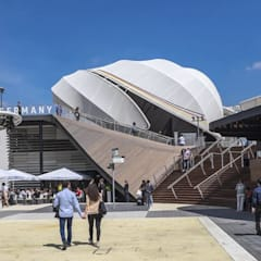 German Pavilion at Expo Milano 2015:  Messe Design von EGGER Wood-based materials