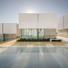 Vista exterior: Janelas   por guedes cruz arquitectos