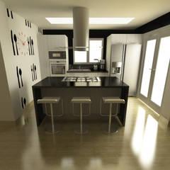 Cocina Quinta Chabella: Cocinas de estilo  por OPFA Diseños y Arquitectura,