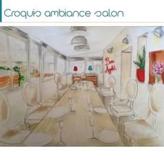 charme authentique: Salle à manger de style de stile Rural par Pièces d'identité