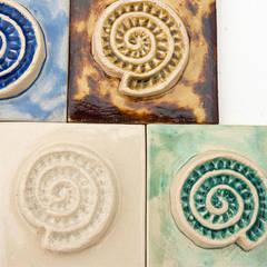 Dekory Amonity od Dekory Nati Śródziemnomorski Ceramika