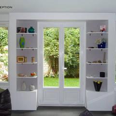 La porte vers le jardin: Fenêtres de style  par Desjoconception