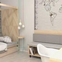 Nursery/kid's room by Artenova Design, Scandinavian