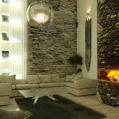 Varios: Salas multimedia de estilo  por arquitecto9.com,