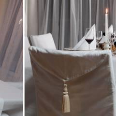 Restaurant Olive Tree: Restaurants de style  par Sanabel Decor
