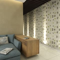 Singh Residence:  Walls by Space Interface,Modern
