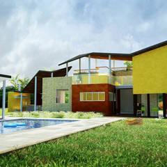 CASA CONTRERAS: Jardines de estilo  por Lápiz De Sueños,