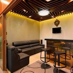 Gimnasios en casa de estilo  por AIS Designs,