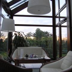 Anexos de estilo  por Pracownia Projektowa Architektury Krajobrazu Januszówka, Colonial