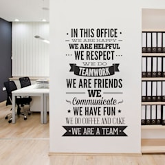 Office buildings by MOONWALLSTICKERS.COM