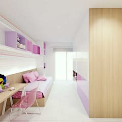 scandinavian Nursery/kid's room by fpr Studio