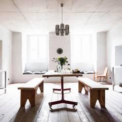 Letnie mieszkanie pod Berlinem: styl , w kategorii Kuchnia zaprojektowany przez Loft Kolasiński