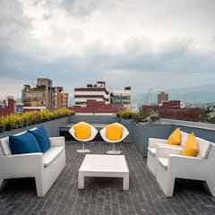 Terrace by MAAD arquitectura y diseño, Eclectic