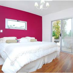 Obra Europa: Dormitorios de estilo  por Silvana Valerio,Moderno