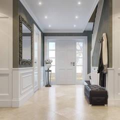 House on St.George Hill:  Corridor & hallway by EVGENY BELYAEV DESIGN, Classic