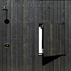 Vakantiewoning Cornelisse, Schiermonnikoog:  Badkamer door De Zwarte Hond