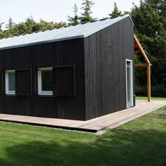 Vakantiewoning Cornelisse, Schiermonnikoog:  Huizen door De Zwarte Hond