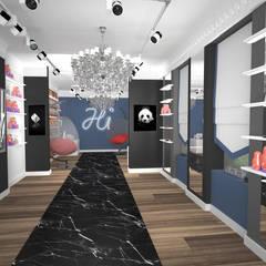 КОММЕРЧЕСКИЕ ПРОЕКТЫ (различные проекты): Офисы и магазины в . Автор – Bricks Design,