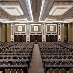 Hilton Istanbul Bomonti:  Conference Centres by Debbie Flevotomou Architects Ltd.