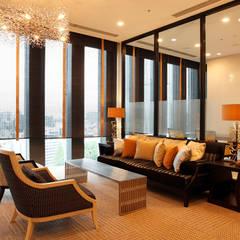 ラウンジ : 澤山乃莉子 DESIGN & ASSOCIATES LTD.が手掛けたホテルです。