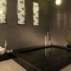 邸宅仕様のスパデザイン キャピトル東急ホテル: 澤山乃莉子 DESIGN & ASSOCIATES LTD.が手掛けたホテルです。