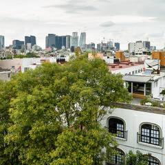 Casa Pasiva desde el extior: Casas de estilo  por Windlock - soluciones sustentables,