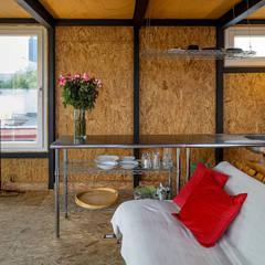 Sala/cocina: Salas de estilo  por Windlock - soluciones sustentables,