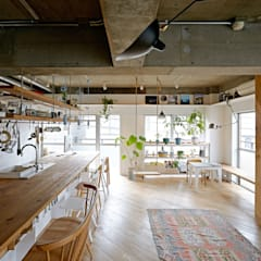 Cocinas de estilo  por .8 / TENHACHI, Industrial