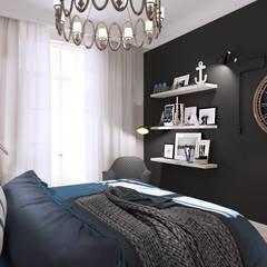 Beausoleil: Chambre de style  par ZR-architects
