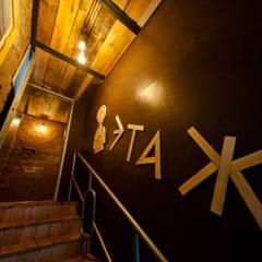 Кальян-бар  ул. Ленина  40 кв.м: Бары и клубы в . Автор – Дизайн студия fabrika