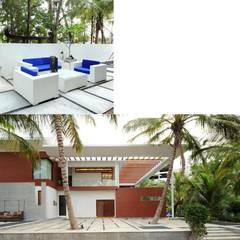 PMR Residence:  Terrace by Dutta Kannan architects
