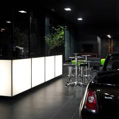 Projeto Comercial | Mini Concessionárias modernas por Dubal Arquitetura e Design Moderno