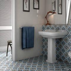 حمام تنفيذ Equipe Ceramicas , بلدي