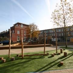 Groen Schoolplein Moderne scholen van House of Green Modern