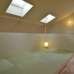 畳コーナー: バウムスタイルアーキテクト一級建築士事務所が手掛けた和室です。