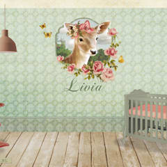 Nursery/kid's room by Kaartje of Kip,