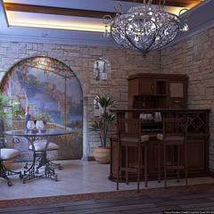 Кусочек Италии в доме: Медиа комнаты в . Автор – Architoria 3D