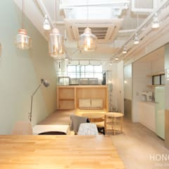 Estudios y despachos de estilo  por 홍예디자인