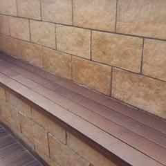 ash  wood :  Terrace by JRD Associates