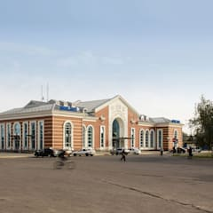 Kramatorsk station redevelopment:  Airports by VALENTIROV&PARTNERS