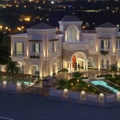 Villa At Dubai:  Houses by SDA designs
