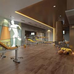 CCT INVESTMENTS – CCT 117 Project in Esenyurt: modern tarz Fitness Odası