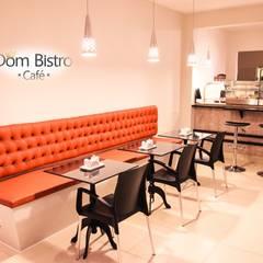 DON BISTRÔ CAFÉ: Espaços gastronômicos  por Daniely Victor - Designer de Interiores