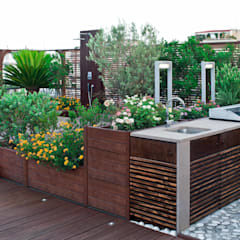 Patios & Decks by architetto Lorella Casola